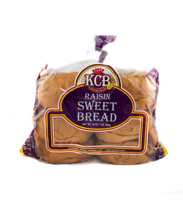 KCB Raisin Sweet Bread - 16 oz - Daily Fresh Grocery