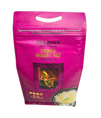 KHAZANA Smoked Basmati Rice - 10 Lbs - Daily Fresh Grocery