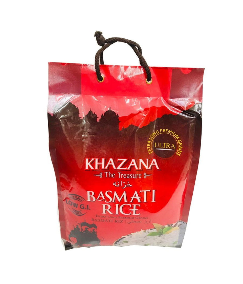 KHAZANA – The Treasure-Basmati Rice – 10Lbs - Daily Fresh Grocery