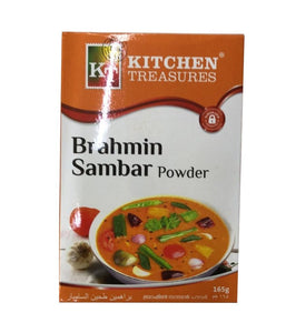Kitchen Treasures Brahmin Sambar Powder - 165gm - Daily Fresh Grocery