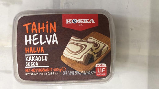 Koska Tahin Helva Cocoa - 400gm - Daily Fresh Grocery