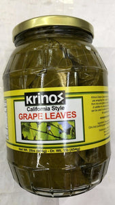 Krinos California Style Grape Leaves - 454gm - Daily Fresh Grocery