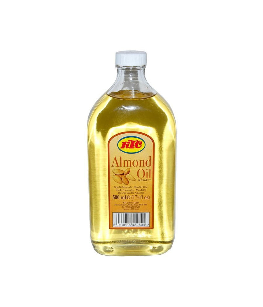 KTC Pure Almond Oil - 500 ml - Daily Fresh Grocery