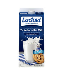 Lactaid 2% Reduced Fat Milk - 1.89 Ltr - Daily Fresh Grocery