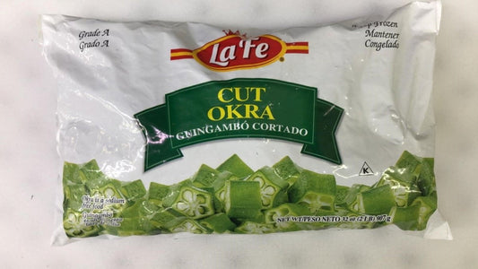 LaFe Cut Okra - 2 lbs - Daily Fresh Grocery