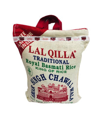 LAL QILLA - Traditional Basmati Rice - 10Lbs - Daily Fresh Grocery