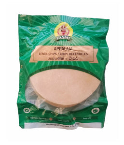 Laxmi Appalam Lentils Chips - 200 Gm - Daily Fresh Grocery