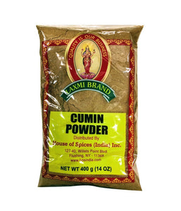 Laxmi Brand Cumin Powder - 400 Gm - Daily Fresh Grocery