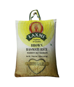 Laxmi Brown Basmati Rice 10 lb / 4.5 kg - Daily Fresh Grocery