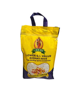 LAXMI – LOWER G. I. VALUE – Basmati Rice – 10Lbs - Daily Fresh Grocery