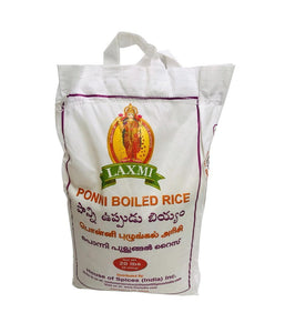 LAXMI - Ponni  Boiled  Rice – 20Lbs - Daily Fresh Grocery