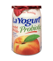 LaYogurt Probiotic Peach - 6oz - Daily Fresh Grocery