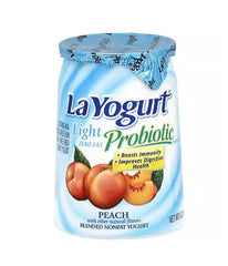 LaYogurt Probiotic Peach with other natural flavors - 6oz - Daily Fresh Grocery