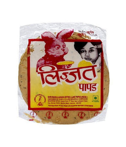 Lijjat Plain Udad Papad 7 oz - Daily Fresh Grocery