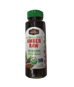 Madhava Naturally Sweet Organic Amber Raw Blue Agave - 11.75 Oz - Daily Fresh Grocery