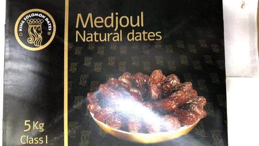 Medjoul Natural Dates - 5kg - Daily Fresh Grocery