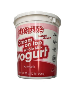 Merve Cream on top Whole Milk Yogurt Kaymakli - 906 Gm - Daily Fresh Grocery