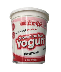 Merve Cream on top Yogurt Kaymakli - 906 Gm - Daily Fresh Grocery