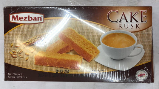 Mezban Cake Rusk - 650gm - Daily Fresh Grocery