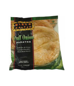 Mirch Masala Puff Onion Paratha - 400 Gm - Daily Fresh Grocery