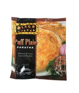 Mirch Masala Puff Plain Paratha - 400 Gm - Daily Fresh Grocery
