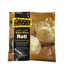 Mirch Masala Whole Wheat Roti - 400 Gm - Daily Fresh Grocery