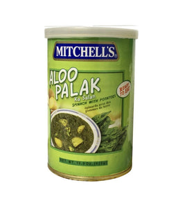 Mitchell's Aloo Palak 425g - Daily Fresh Grocery
