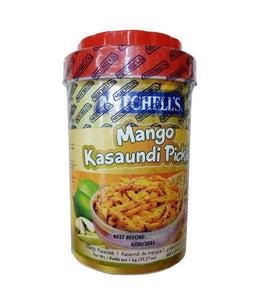 Mitchell's Mango Kasaundi Pickle - 1 Kg - Daily Fresh Grocery