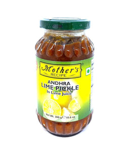 Mothers Recipe Andhra Lime Pickle - 300 Gm - Daily Fresh Grocery