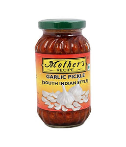 Mothers Recipe Garlic Pickle (South Indian Style) - 300 Gm - Daily Fresh Grocery