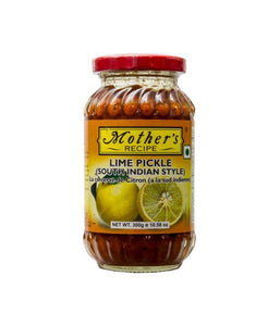 Mother's Recipe Lime Pickle (South Indian Style) 300 gm - Daily Fresh Grocery