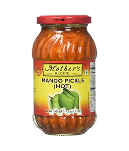 Mother's Recipe Mango Pickle (Hot) - 500 Gm - Daily Fresh Grocery