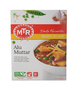 MTR Alu Muttar Curry (READY TO EAT) - 300 Gm - Daily Fresh Grocery