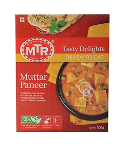 MTR Muttar Paneer Curry (READY TO EAT) - 300 Gm - Daily Fresh Grocery