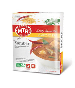 MTR Sambar Curry (READY TO EAT) - 300 Gm - Daily Fresh Grocery