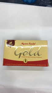 Mysore Sandal Gold Sandalwood Oil Almond Oil Soap - 125gm - Daily Fresh Grocery