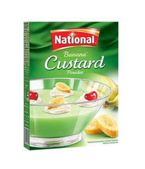 National Banana Custard Powder 300 gm - Daily Fresh Grocery