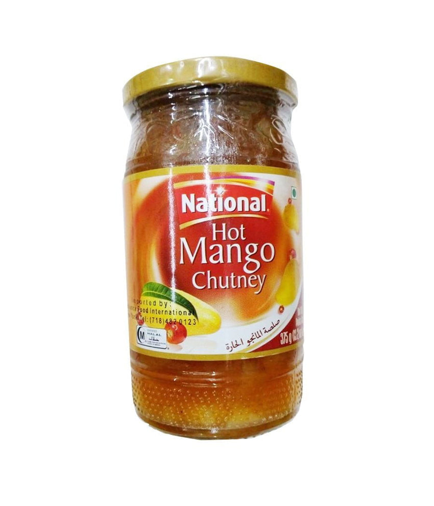National Hot Mango Chutney - 375 Gm - Daily Fresh Grocery