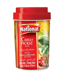 National Hot Mix Chilli Pickle in Oil - 500 Gm - Daily Fresh Grocery
