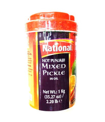National Hot Panjabi Mixed Pickle in Oil - 1 Kg - Daily Fresh Grocery