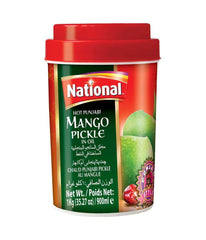 National Hot Punjabi Mango Pickle in Oil - 1 Kg - Daily Fresh Grocery