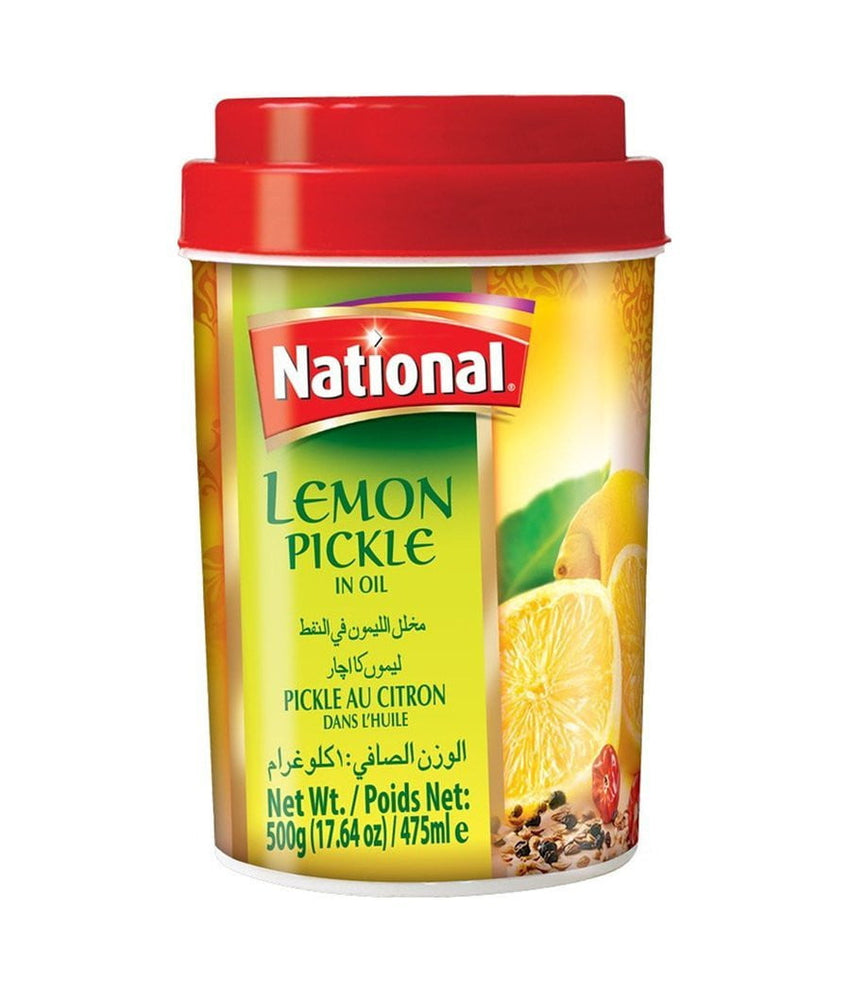 National Lemon Pickle in Oil - 1 Kg - Daily Fresh Grocery