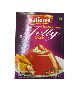National Mixed Fruit Flavored Jelly Crystals - 80gm - Daily Fresh Grocery
