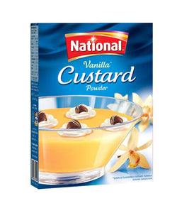National Vanilla Custard Powder 300 gm - Daily Fresh Grocery