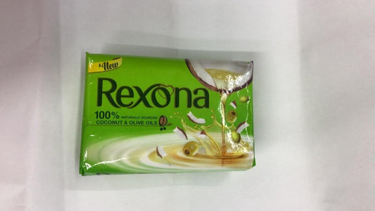New Rexona Coconut & Olive Oils Soap - 100gm - Daily Fresh Grocery