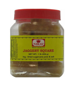 Nirav Jaggery Square 1 lb - Daily Fresh Grocery