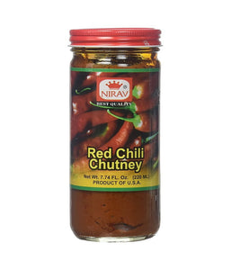 Nirav Red Chilli Chutney 220 ml - Daily Fresh Grocery