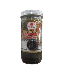 Nirav Sweet Panipuri Chutney 220 ml - Daily Fresh Grocery