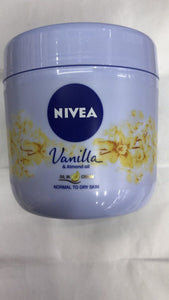 Nivea Vanilla Almond Oil In Cream - 400ml - Daily Fresh Grocery