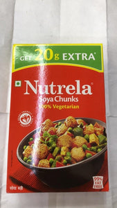 Nutrela Soya Chunks 100% vegetarian - 200gm - Daily Fresh Grocery